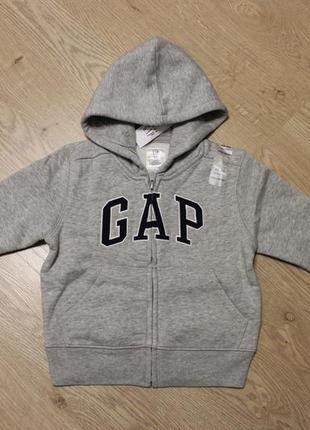 Утеплена кофта на хлопчика 1,5-2 р.gap