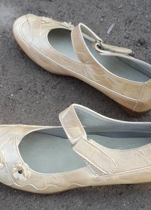 Туфли canoa бежевые