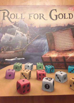 Настольная игра Гонка за золотом (ROLL FOR GOLD) Tactic
