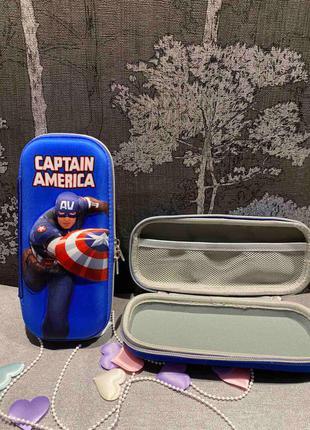 Пенал капитан Америка