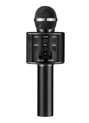 Детский Микрофон WS-858 черный