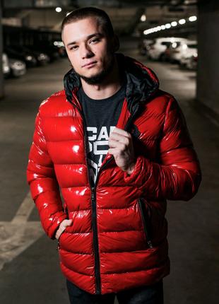 Мужская красная куртка MONCLER