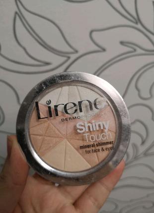 Шиммер, хайлайтер для лица Lirene
