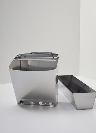 Комплект : хоппер ковш 3в1 + ванночка для шпатлёвки