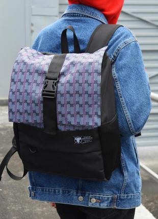 Рюкзак пилигрим черный тетрис