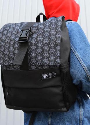 Рюкзак пилигрим черный дарт вейдер