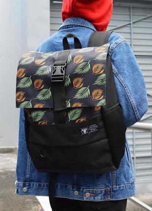 Рюкзак пилигрим черный листья