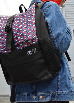 Рюкзак пилигрим черный покемон