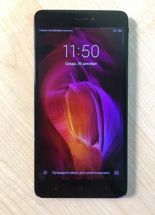 Смартфон Xiaomi Redmi Note 4 32 Gb (23861) Уценка