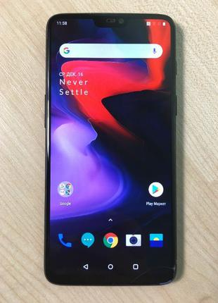 Смартфон OnePlus 6 64 Gb (70197) Уценка
