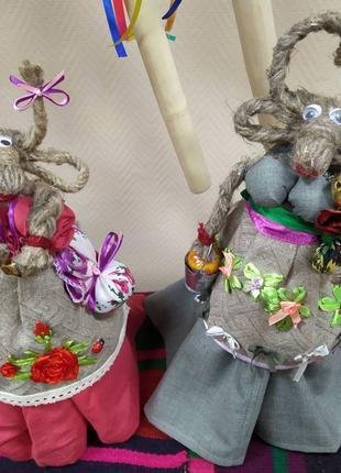 Коза з лляної нитки, лялька-коза