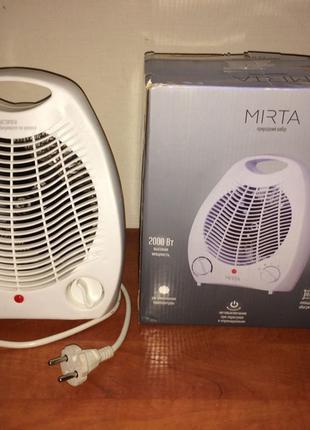 Тепловентилятор MIRTA 2кВт. Отличное состояние. Переключатель ...