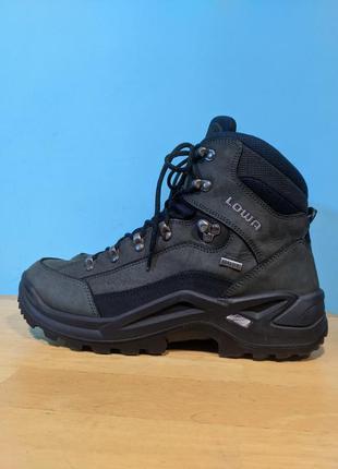 Ботинки кожаные трекинговые непромокаемые lowa renegade gtx mi...