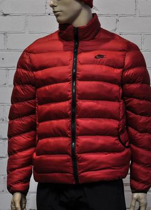 Куртка зима nike красная