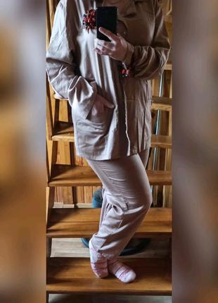 Пижама сатиновая