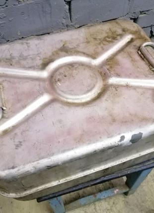 Канистра алюминиевая 40л(горизонтальная,лодочная)