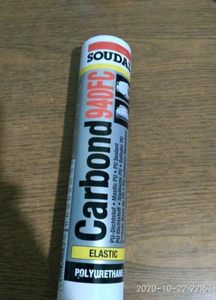 Клей-герметик Soudal carbond 940 FC белый 280 ml