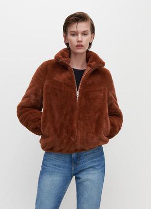 Куртка из искусственного меха reserved(xs-l)