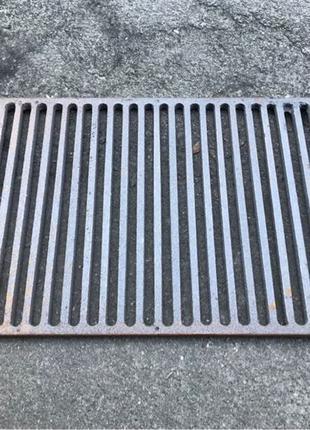 Чугунная решетка гриль барбекю мангал решітка сетка чавун колосни