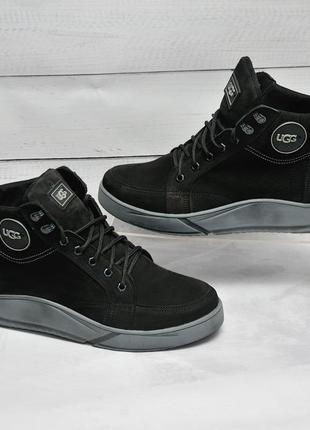 🔥 ugg  кожаные зимние ботинки dm зимние ботинки наложенный пла...
