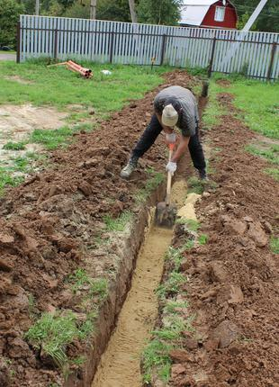 Копка, землекопы, земляные работы одесса