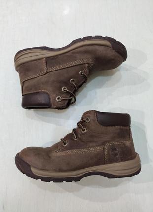 Timberland демисезонные кожаные ботинки