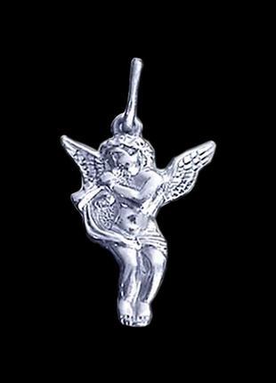 Подвес серебро 925 кулон ангел 30080