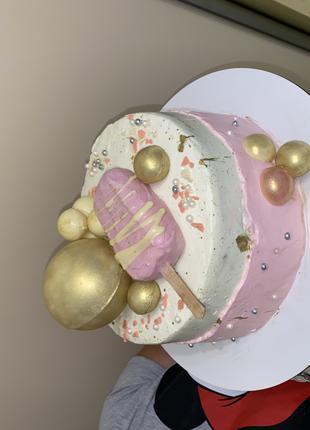 Чудо-тортик для девочки))