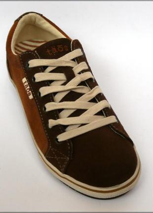 Taos footwear retro кеды кроссовки замша оригинал сша