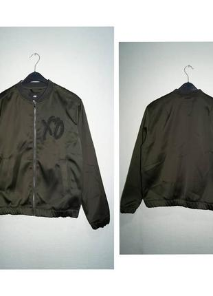 H&m x xo bomber jacket(the weeknd)