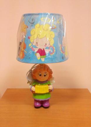 Детская настольная лампа ночник