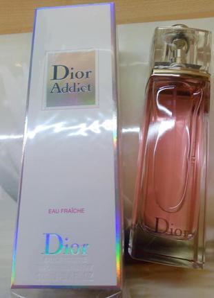 Скидка!!christian dior addict eau fraiche, 100 мл