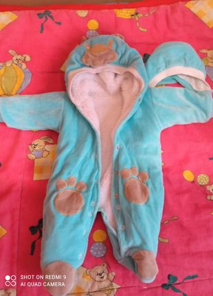 Конверт и  костюм для новорожденого недорого.