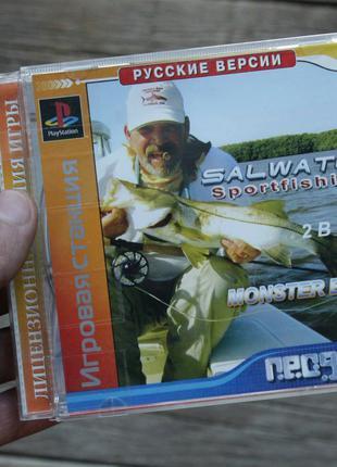 Игра Рыбалка | Sony PlayStation 1 (PS1)