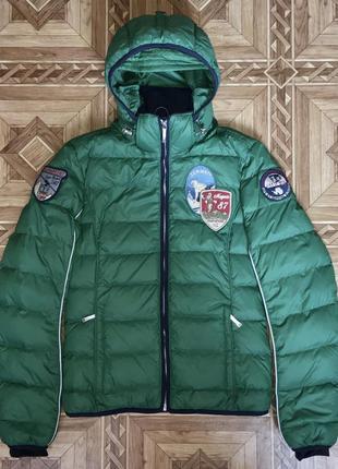 Зимний пуховик парка куртка napapijri{оригинал}р.s