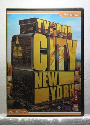 Диск с игрой для ПК | Tycoon City: New York