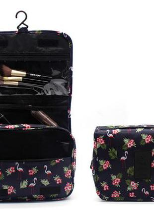 Дорожная сумка-органайзер для косметики, подвесной органайзер,