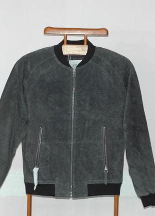 Мужская куртка из натуральной замши edc by esprit, размер m, н...