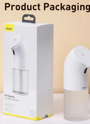 Умный сенсорный автоматический дозатор жидкого мыла Baseus