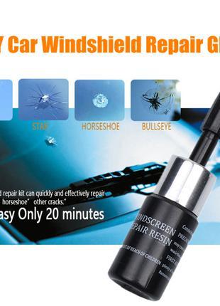Ремонтный комплект-клей для стекла Windshield Repair Kit (окон,ст