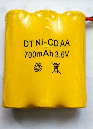 Ni-CD AA 3.6V 700mAh Аккумулятор Батарея АКБ