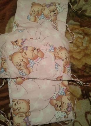 Защита-Бортики на кроватку