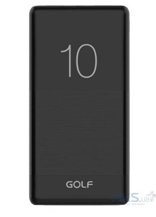 Новый внешний аккумулятор Power bank GOLF G80 10000 Mah черный