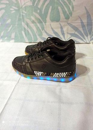 ❌❗ распродажа ❌❗ светящиеся кроссовки led с подзарядкой