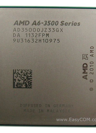 Процесор AMD LIano A6-3500 2.1GHz/3MB (AD3500OJGXBOX) sFM1 BOX