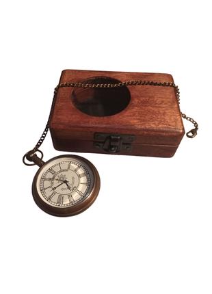 Карманные часы Victoria London (ручная работа) + шкатулка