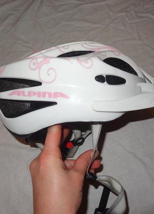 Защитный велошлем шлем alpina