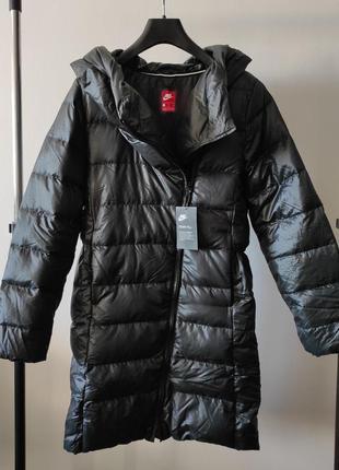 Новый пуховик nike куртка чёрная пух 75% найк оригинал найки п...