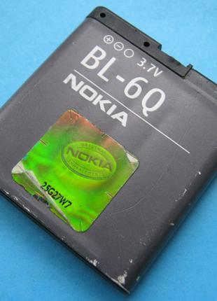 Аккумулятор Nokia BL-6Q, оригинал