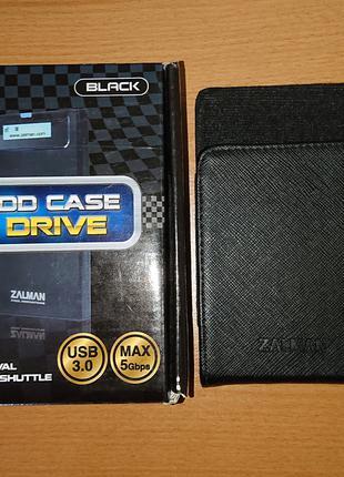 "Бокс карман для жесткого диска HDD 2.5"" Zalman ZM-VE300 Black"